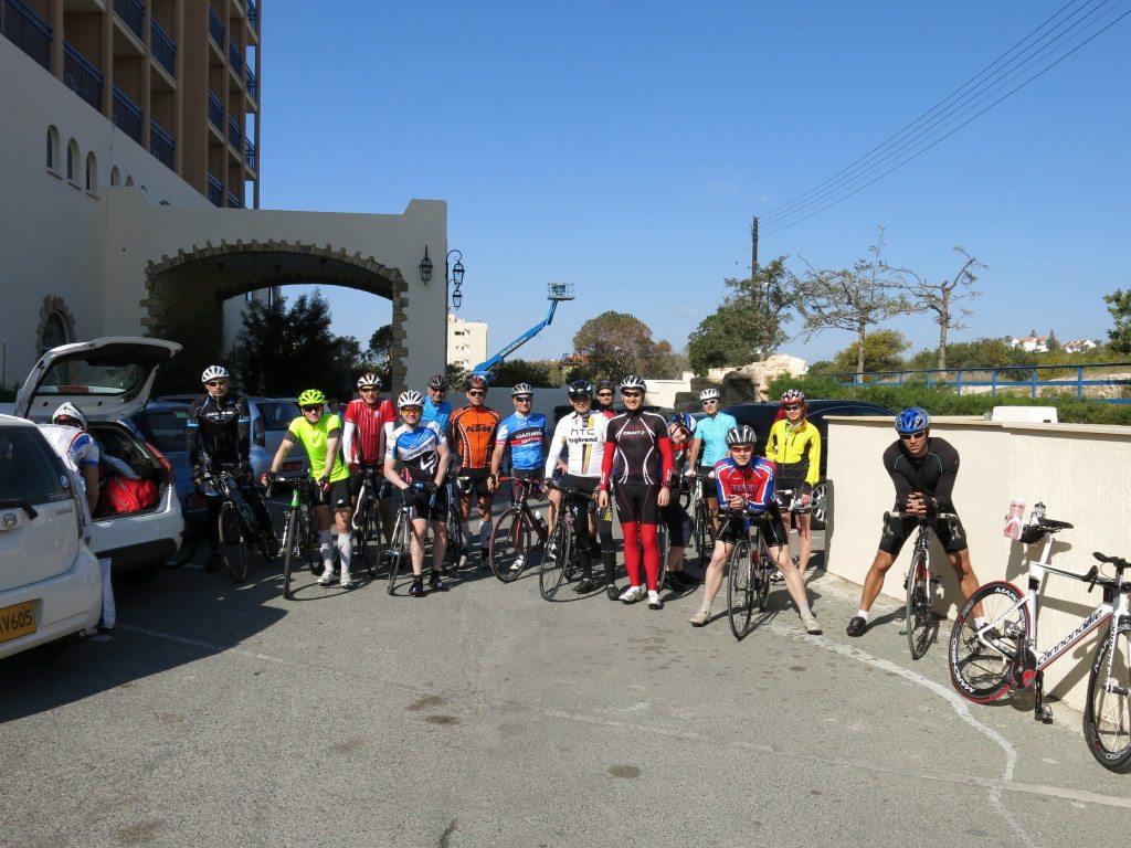 Первая поездка на велосипедах