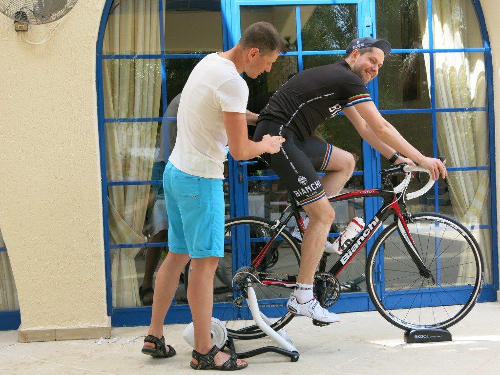 Регулировка посадки на велосипеде