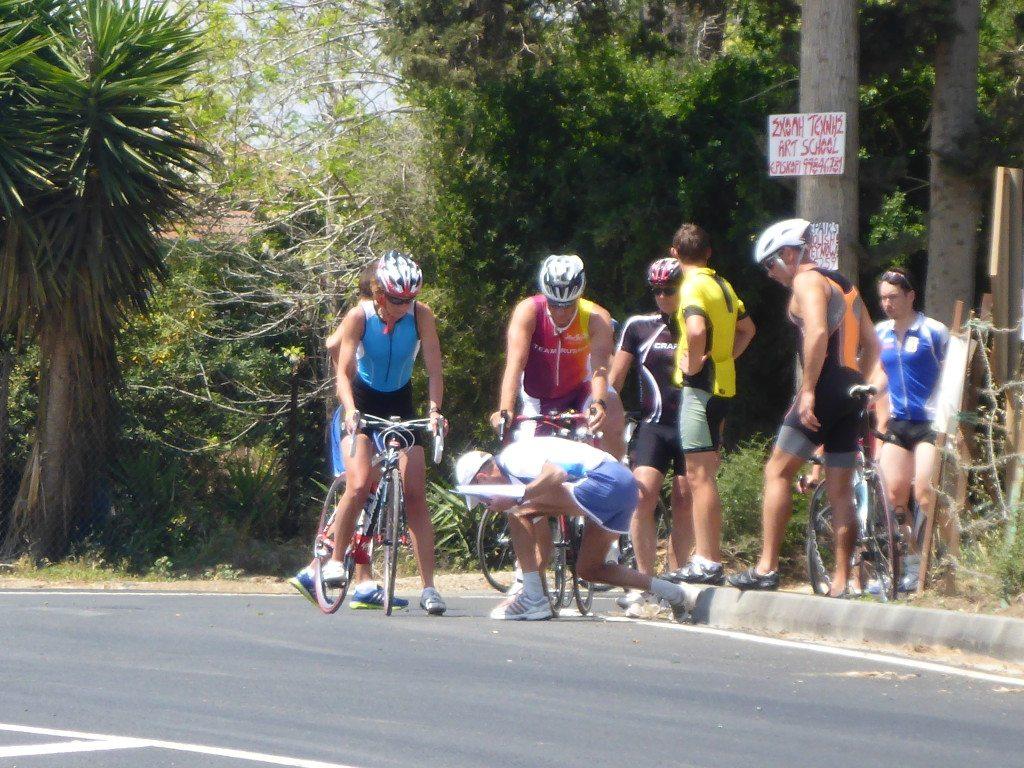 Триатлон Темп Кипр вело этап
