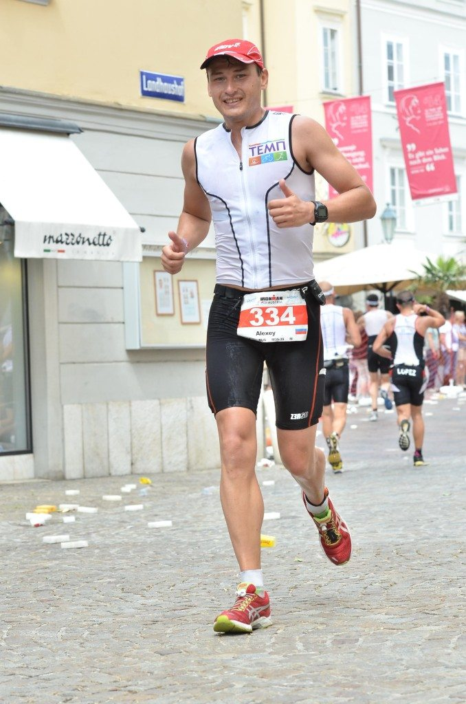 Ironman Austria run split