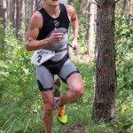 Дмитрий Ильин на беговом этапе