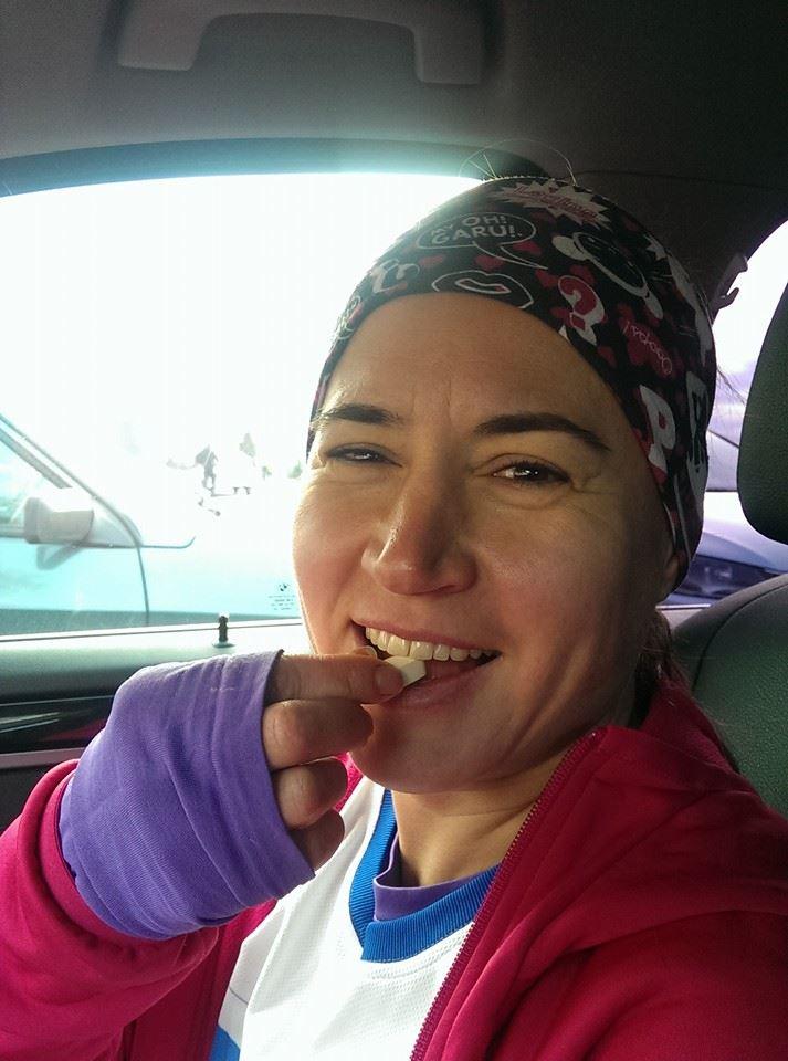 Гульнара Иванова на спринт-триатлоне в Бережках