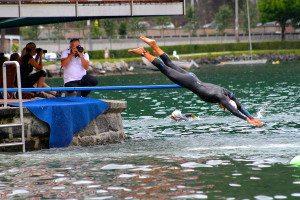 Zell am See triathlon swim