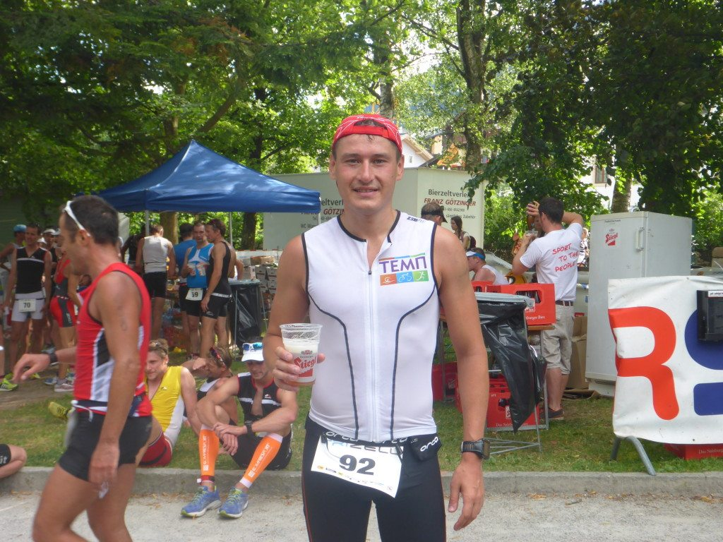 Zell am See triathlon finish