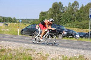 Trismile bike course