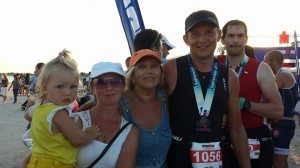 Ironman Mallorca finish