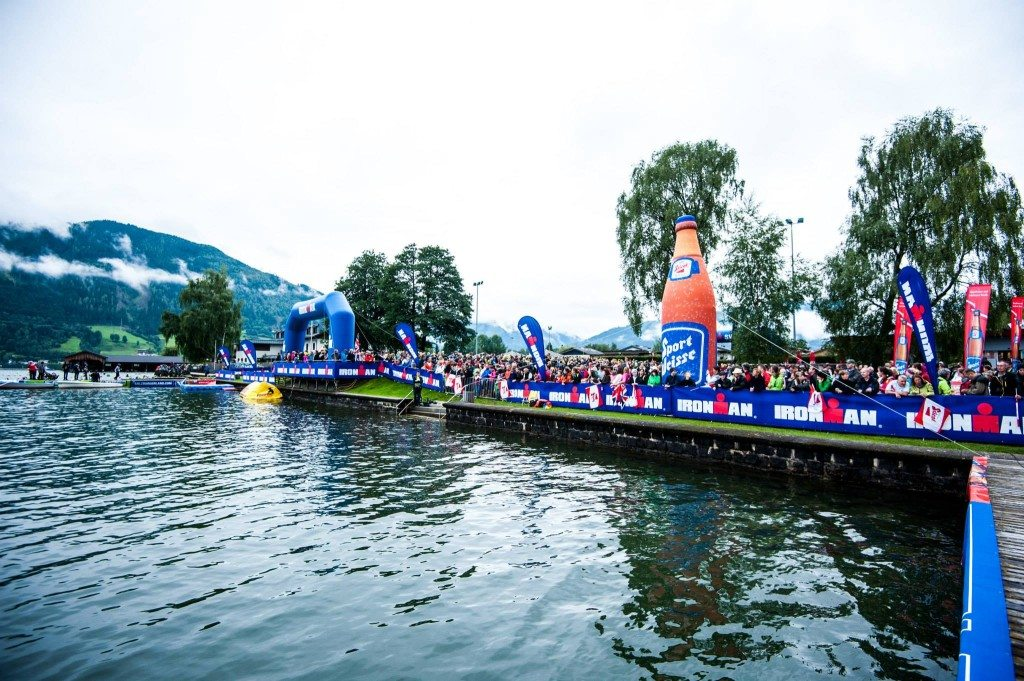 Ironman 70.3 Zell am See зона старта