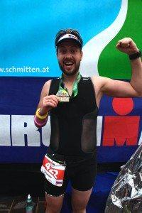 Ironman 70.3 Zell am See медаль