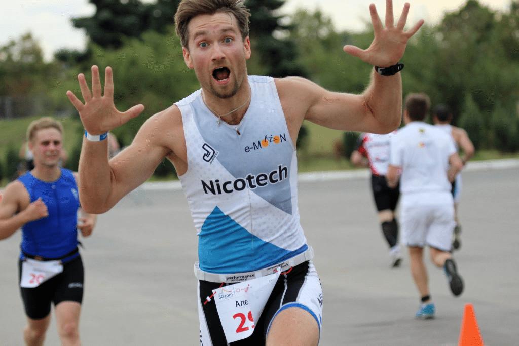 Спринт триатлон в Крылатском