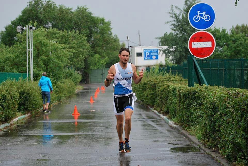 Московский спринт триатлон