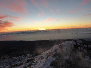 Восход солнца на Тейде
