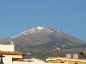 Вид на вулкан Тейде