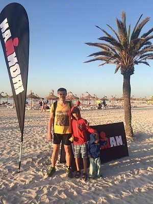 Ironman Mallorca 70.3 пляж