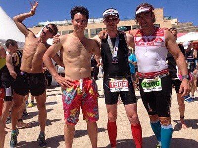 Ironman Mallorca 70.3 после финиша
