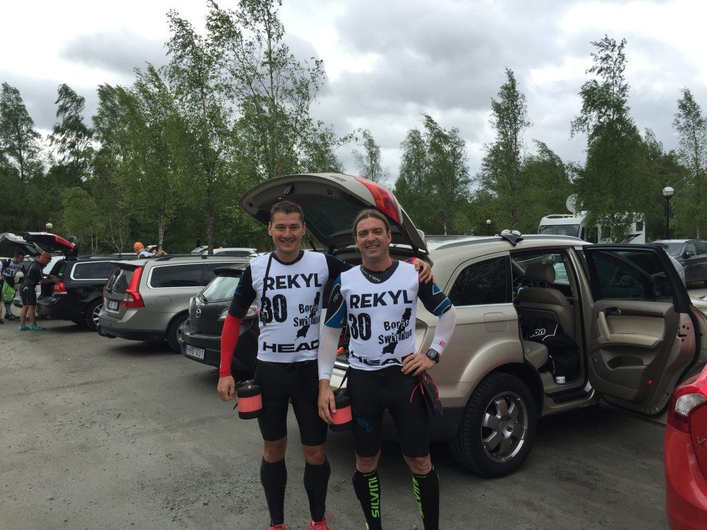 Boras swimrun before the start