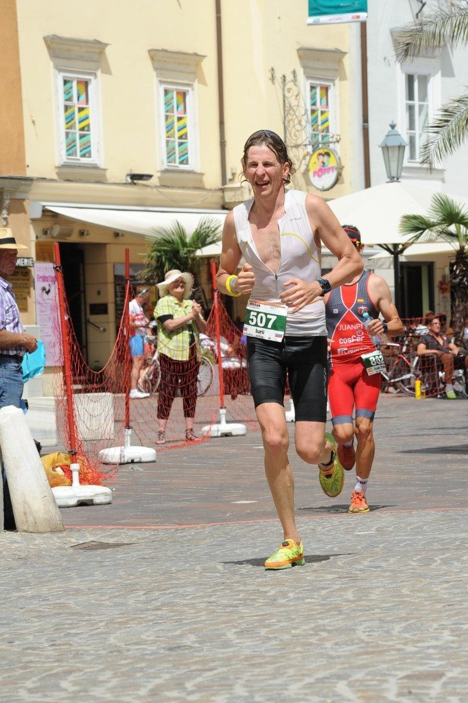 Ironman Austria бег