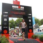 Ironman Austria финиш