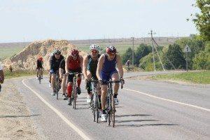 Триатлон Титан олимпийка г. Зарайск велоэтап