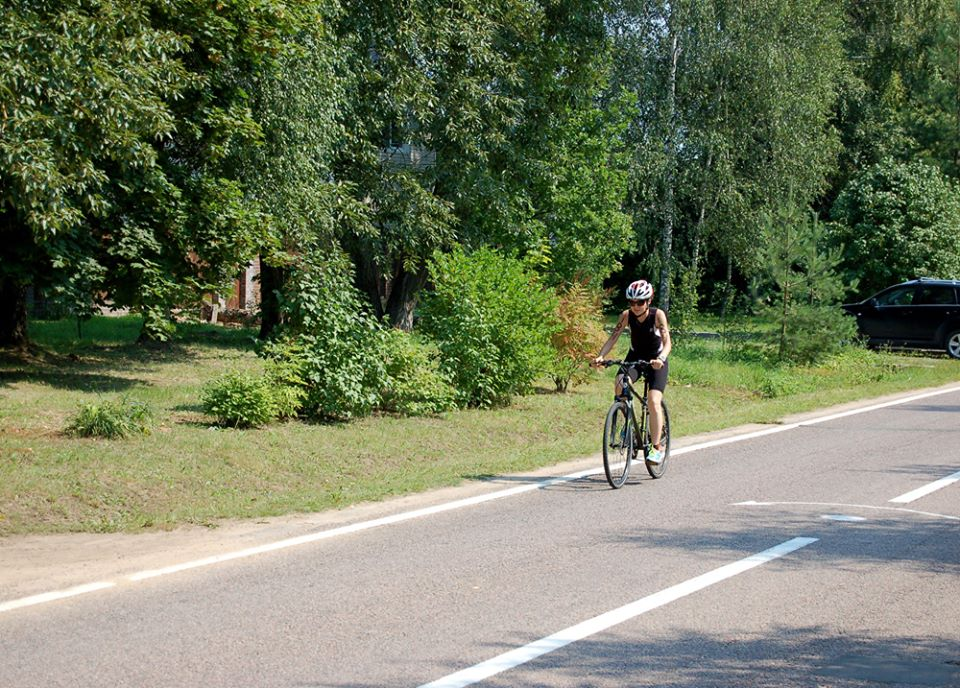 Бережки триатлон на велосипеде