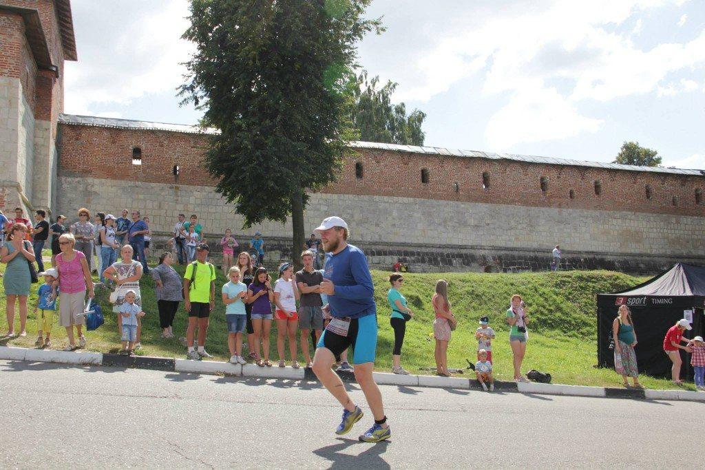 Триатлон Титан олимпийка г. Зарайск бег в горку
