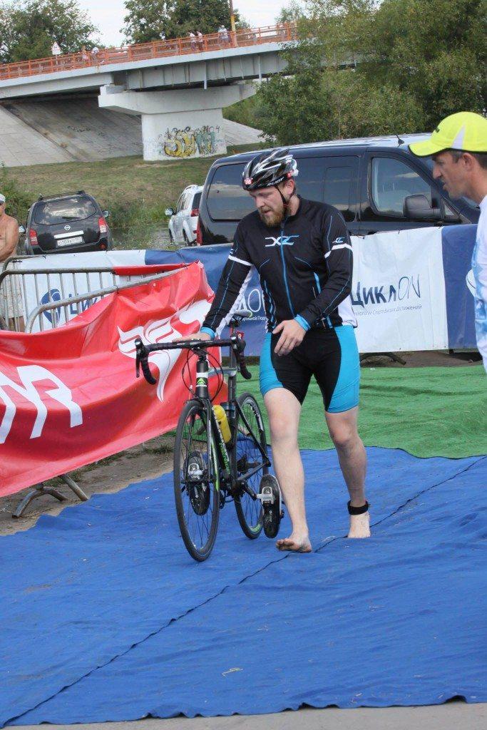 Триатлон Титан олимпийка г. Зарайск транзитка