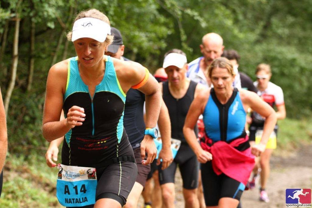 Allgau triathlon run