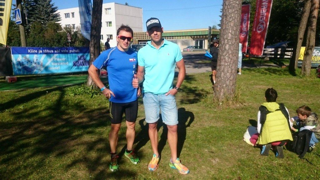 Estonia Keila triathlon friends