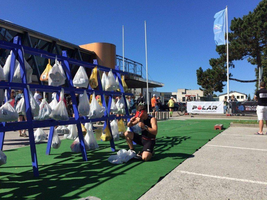 Estonia Keila triathlon T2 bags