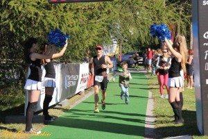 Estonia Keila triathlon finish meters