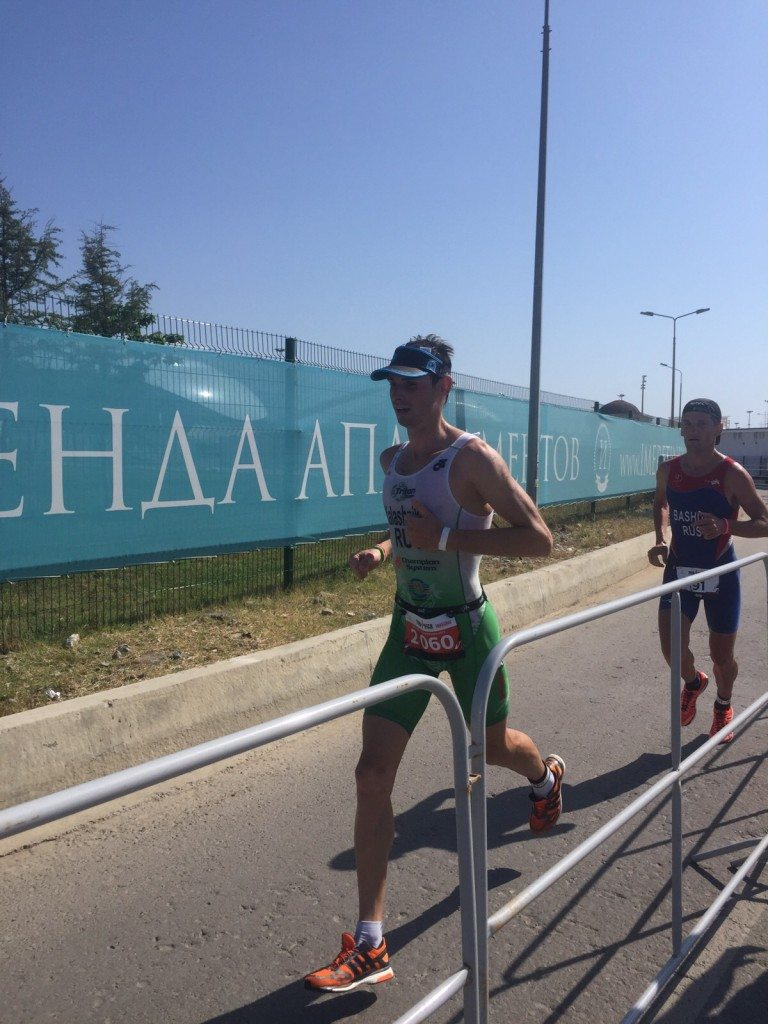 Чемпионат России по триатлону бег