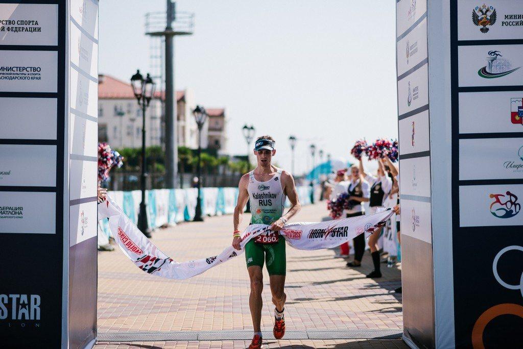 Чемпионат России по триатлону победа