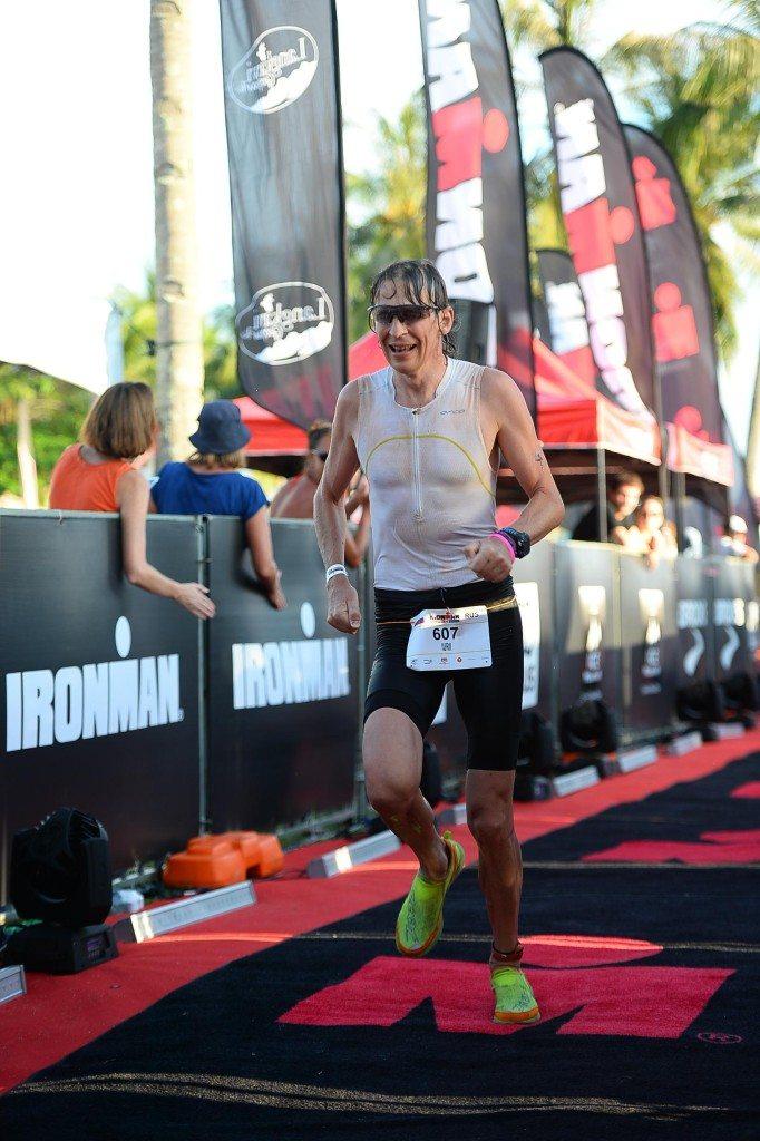 Ironman Malaysia выход из воды