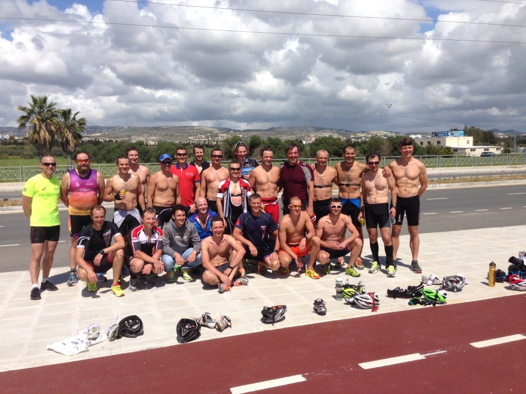 Триатлонный лагерь на Кипре команда
