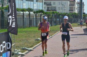 Триатлон в Сочи бег