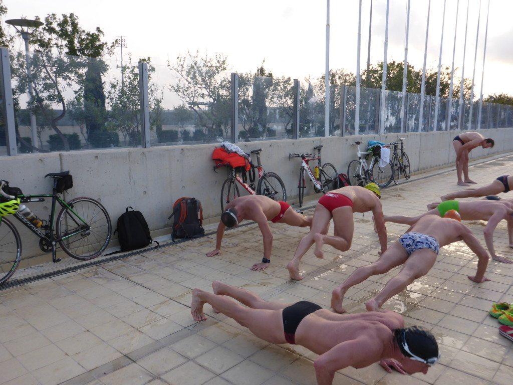 Триатлонный лагерь на Кипре бассейн