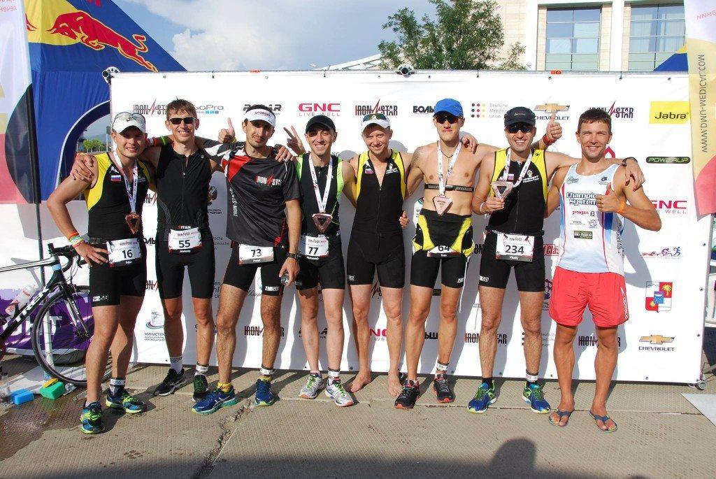 Команда Роснефть на Ironstar 113 Сочи