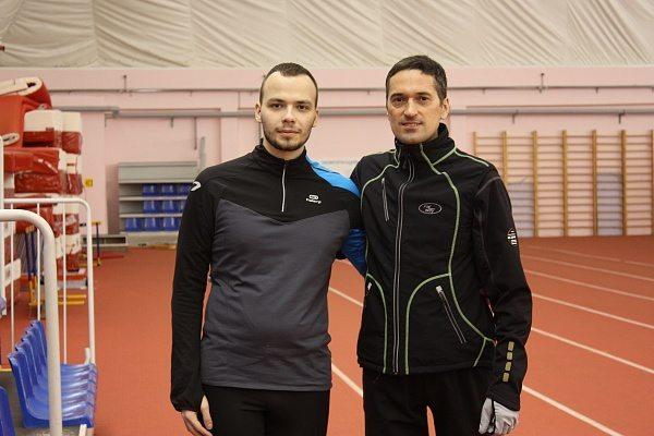 Фото с тренером по бегу Андреем Задорожным