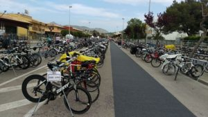Ironman 70.3 Mallorca транзитка после плавания