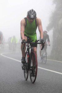 Ironman 70.3 Mallorca велоэтап в тумане