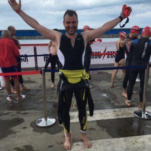 Олег Прокопчук перед стартом Ironstar Sprint Sochi