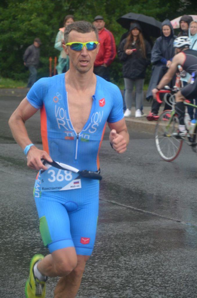 Триатлон А1 113 беговой этап