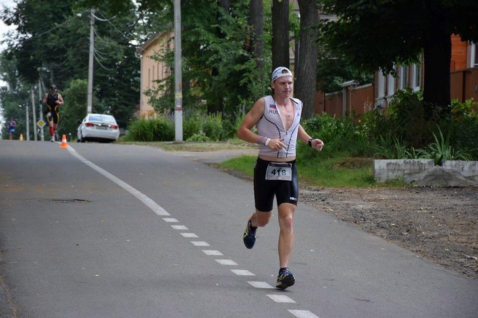 Триатлон в Бронницах беговой этап