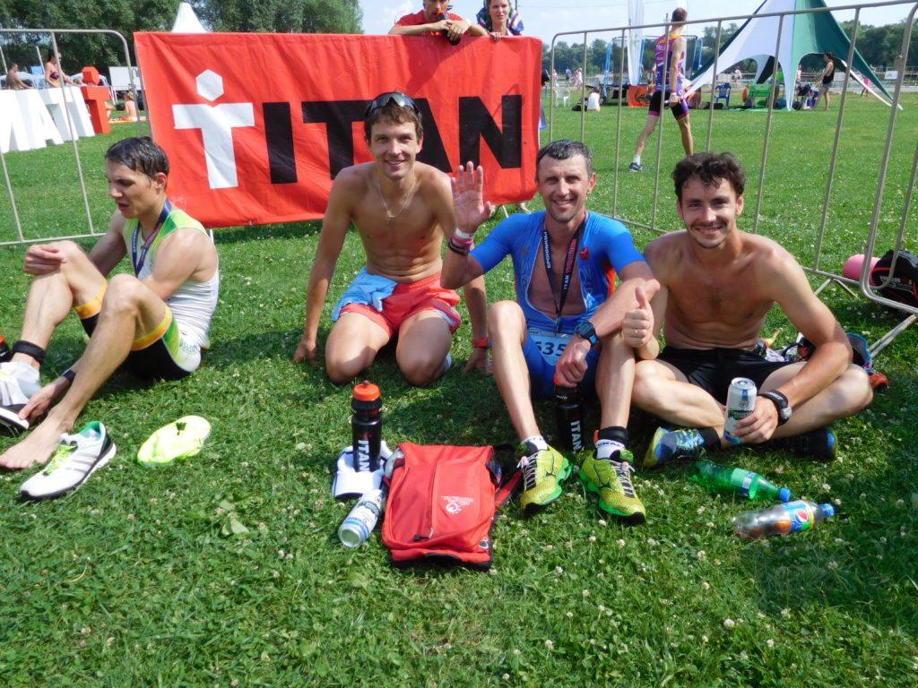Триатлон Титан. После финиша