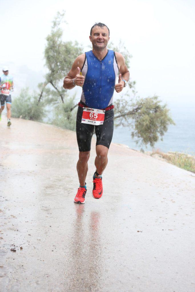 Бег на Ironman 70.3 Pula