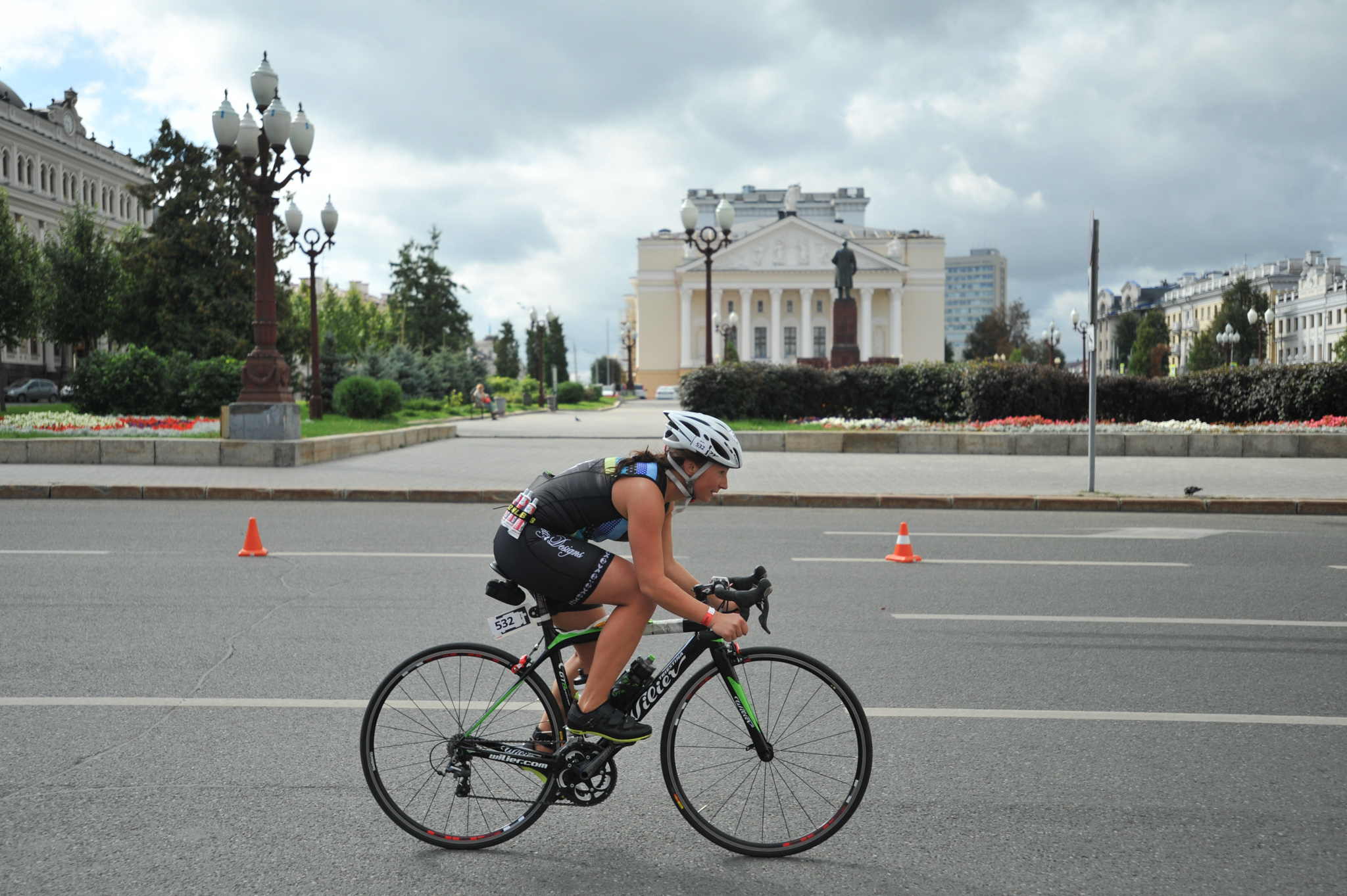 Ironstar 113 Казань фото с велоэтапа