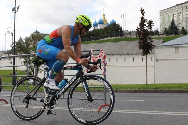 Ironstar 113 Казань на вело этапе