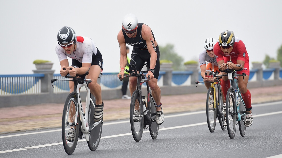 Вело этап на Ironman 70.3 Hefei