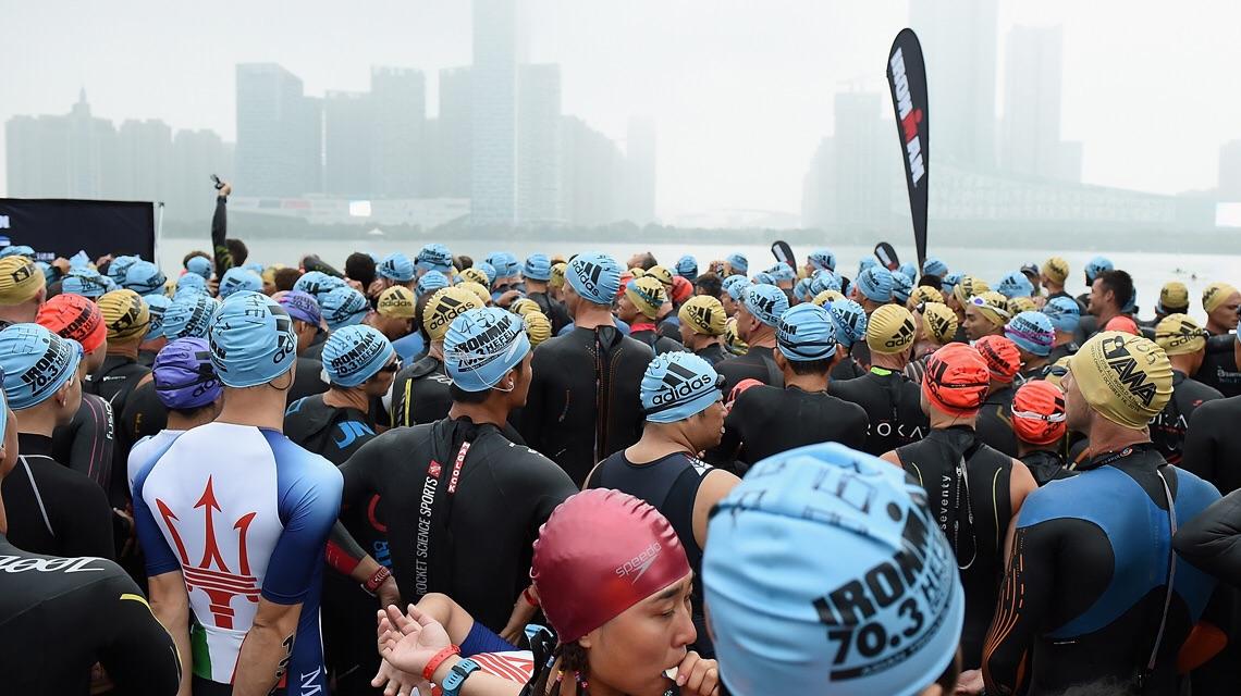 Перед стартом Ironman 70.3 Hefei