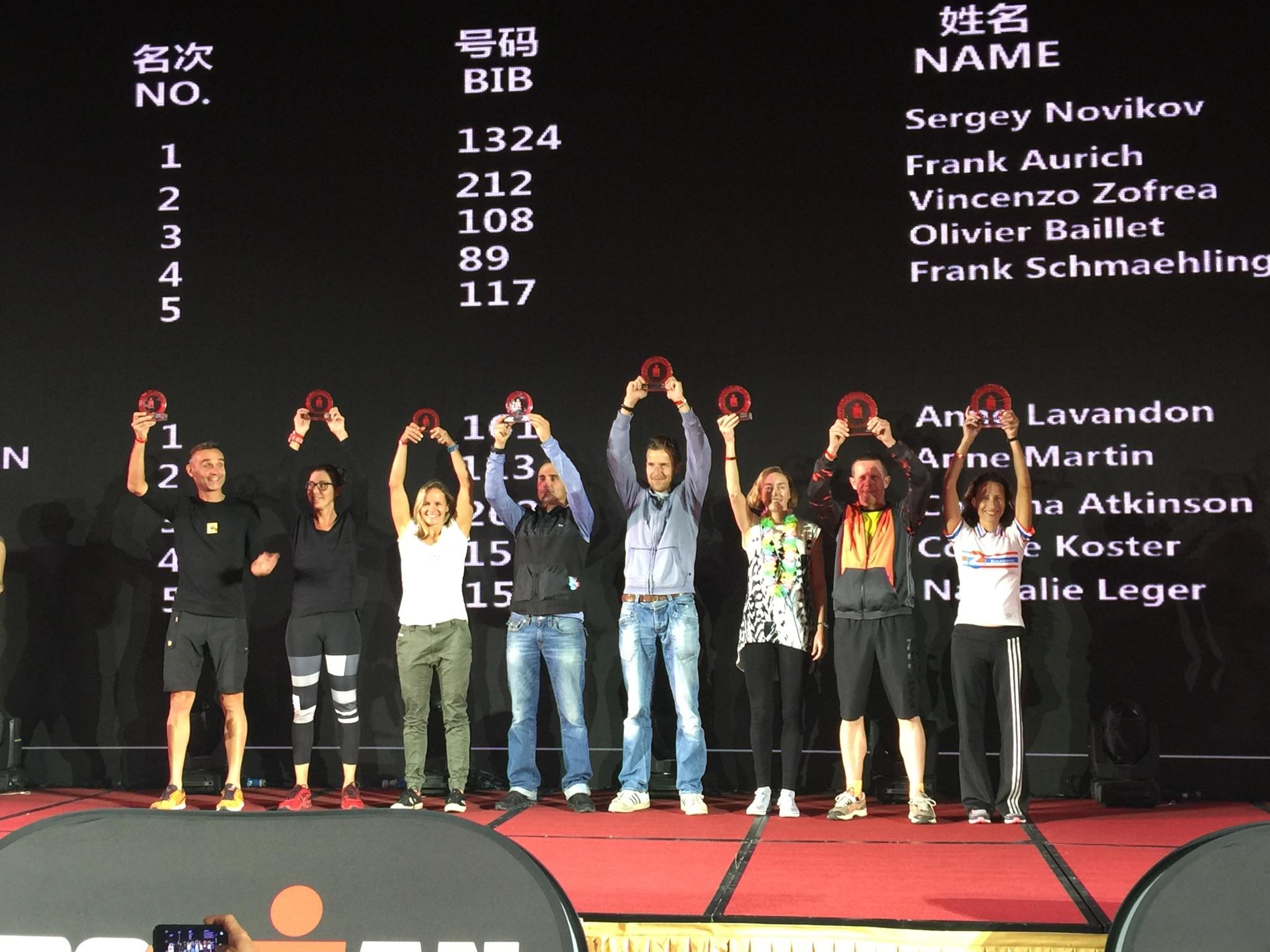 Вручение слота на Кону на Ironman 70.3 Hefei