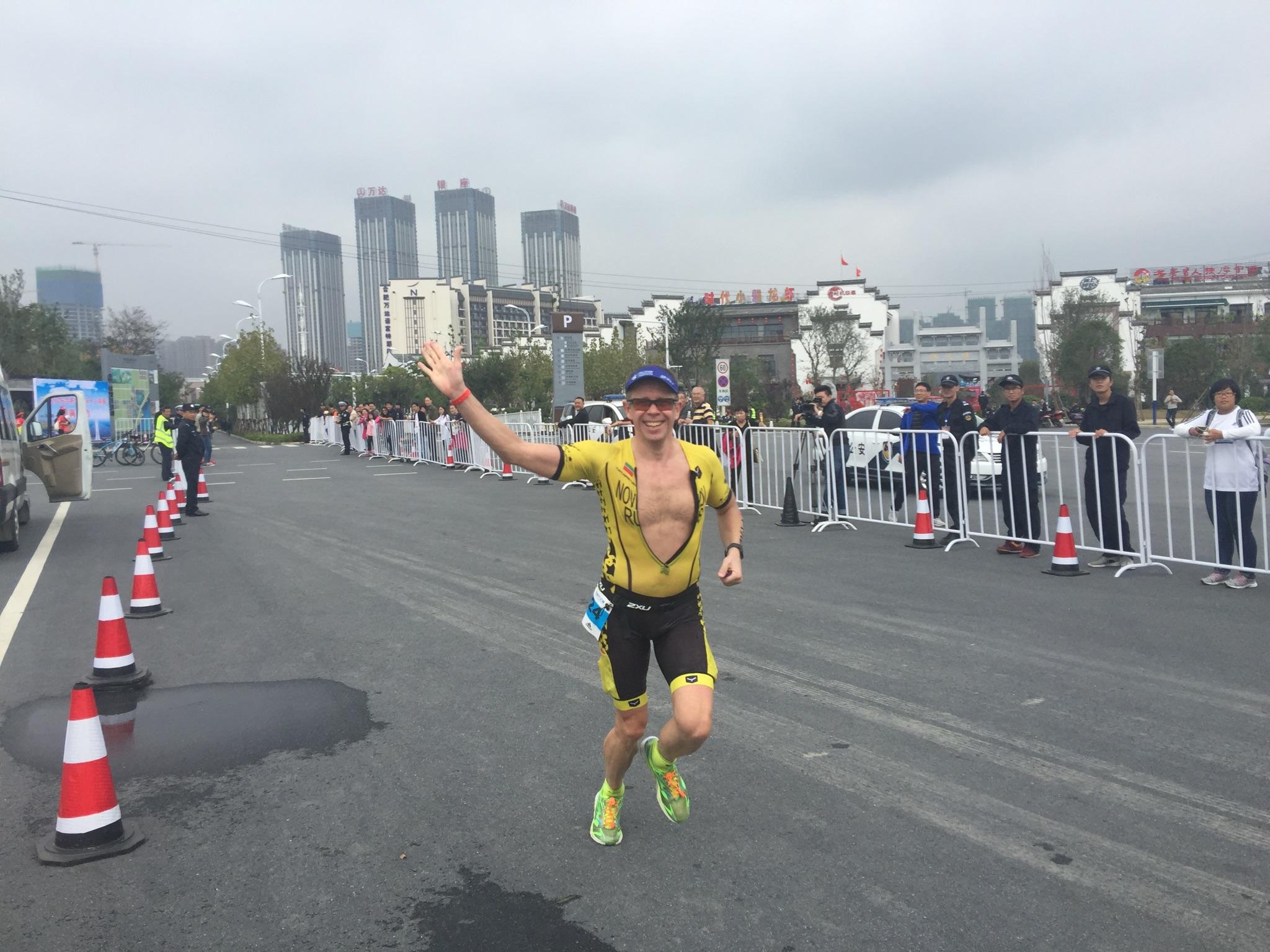 Беговой этап на Ironman 70.3 Hefei